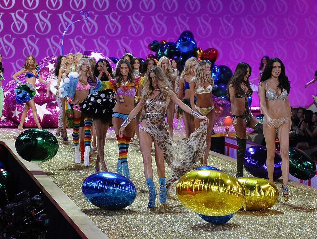 The 2010 Victoria's Secret Fashion Show Unveiled — Karolina Kurkova, Jessica Stam, and Lily Donaldson Work It