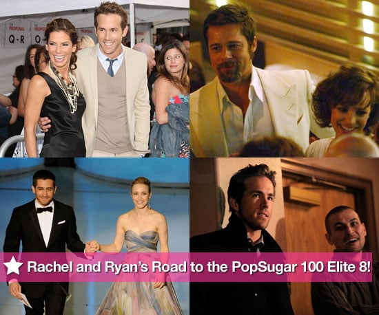 Rachel McAdams and Ryan Reynolds's Surprising Road to the PopSugar 100 Elite 8!