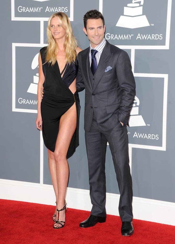 Anne V and Adam Levine