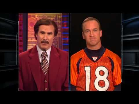 And Then There Was the Time He Was Interviewed by Ron Burgundy