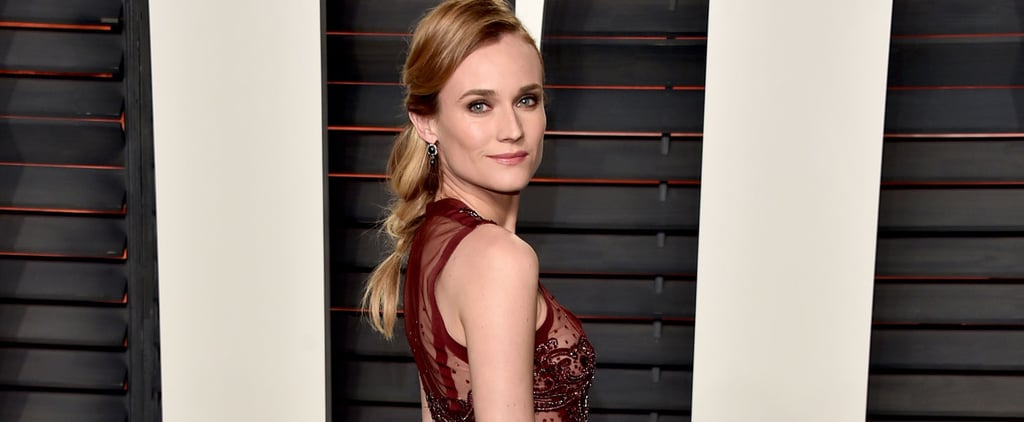Diane Kruger Took Her Oscars Gown Right From the Runway