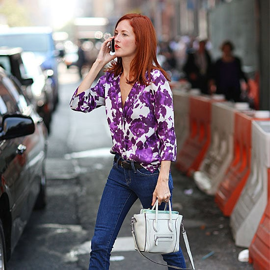 Taylor Tomasi Hill, Anna Dello Russo, and even more of your favorite street-style pros have been spotted out and around Fashion Week's Lincoln Center home base: see their flawless style here.