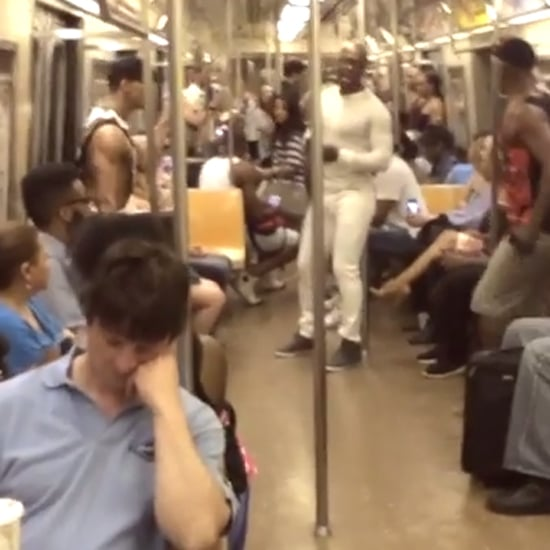 "Lion King Cast Sings ""Circle of Life"" on the Subway 
