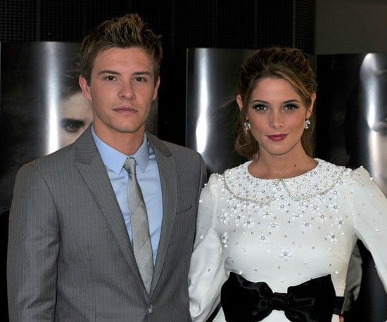 Slide Picture of Ashley Greene and Xavier Samuel at Belgium Premiere of Eclipse