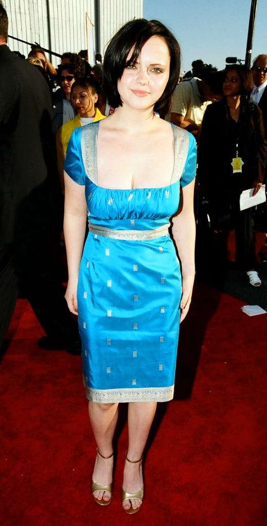 Christina Ricci felt blue.