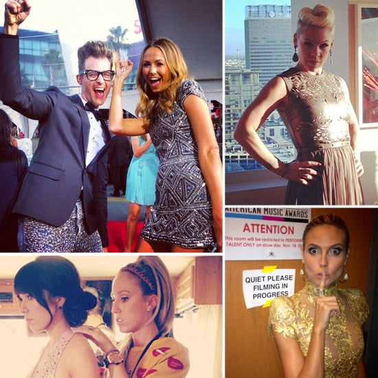 Candid Shots of Pink, Taylor Swift, Heidi Klum, and More at the AMAs!