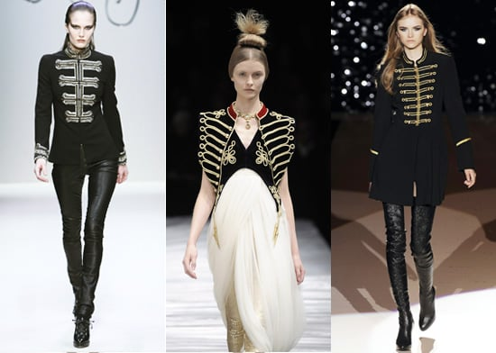 2008 Autumn Trend, Military, Catwalk Report