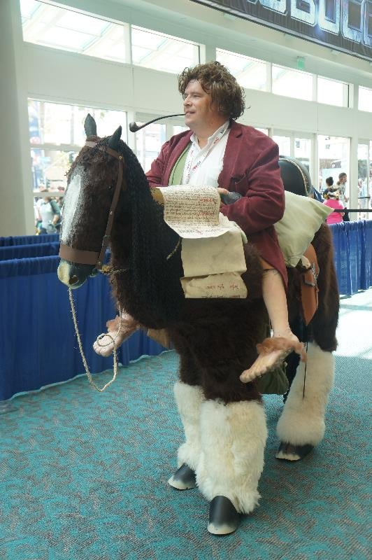 This is such a great Bilbo Baggins.