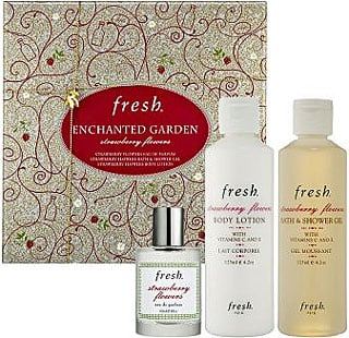 Wednesday Giveaway! Win Fresh Enchanted Garden Strawberry Flowers Set