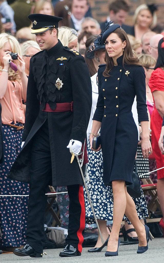 The Royal Couple at the Irish Guards Medal Parade
