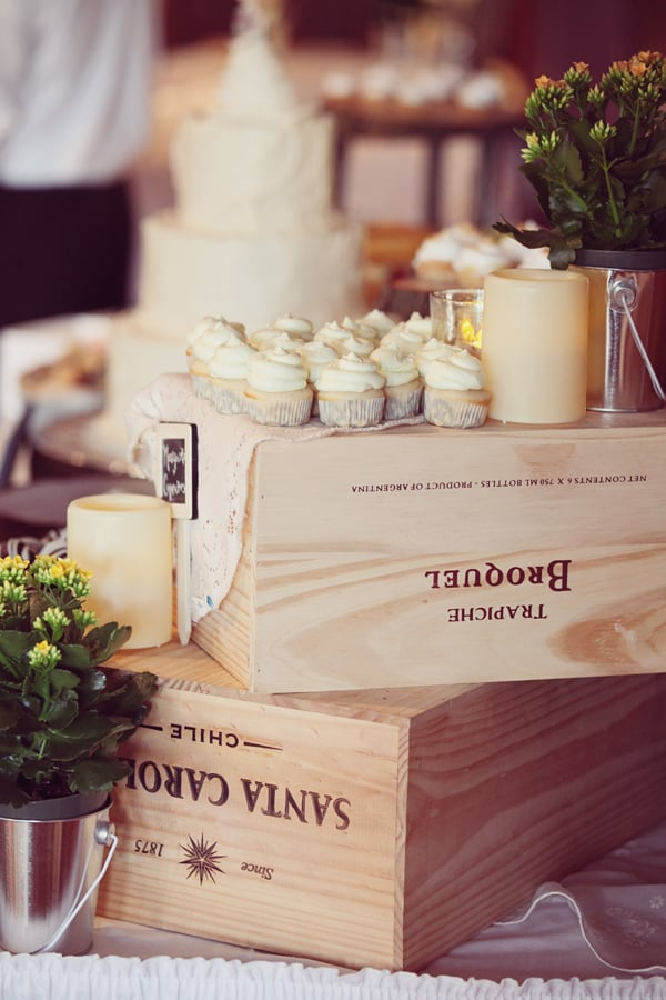 Wine Crate Dessert Bar