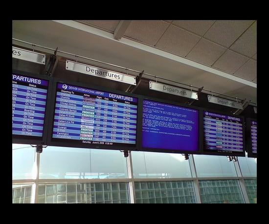 BSOD at Denver Airport