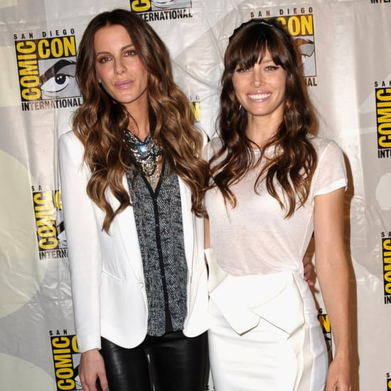 Kate Beckinsale and Jessica Biel at Comic-Con   Pictures