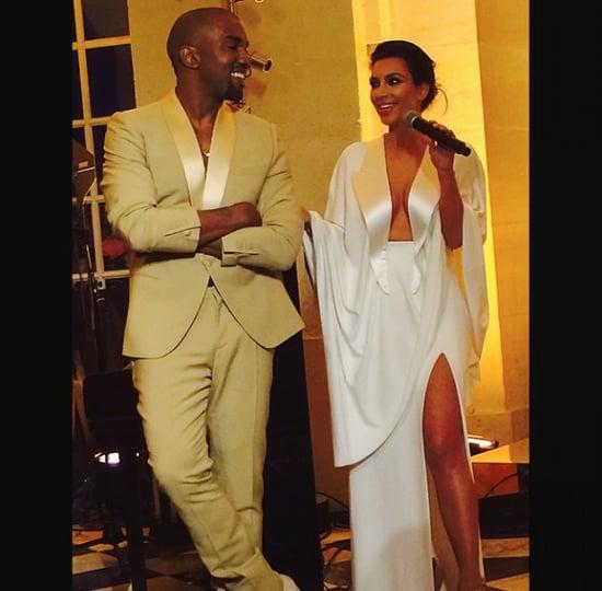 Kim Kardashian's Givenchy Wedding Dress Pictures