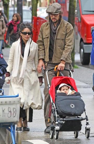 Lisa Bonet and Baby Girl Lola
