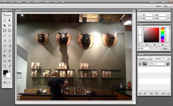 Splashup: Like Web Photoshop