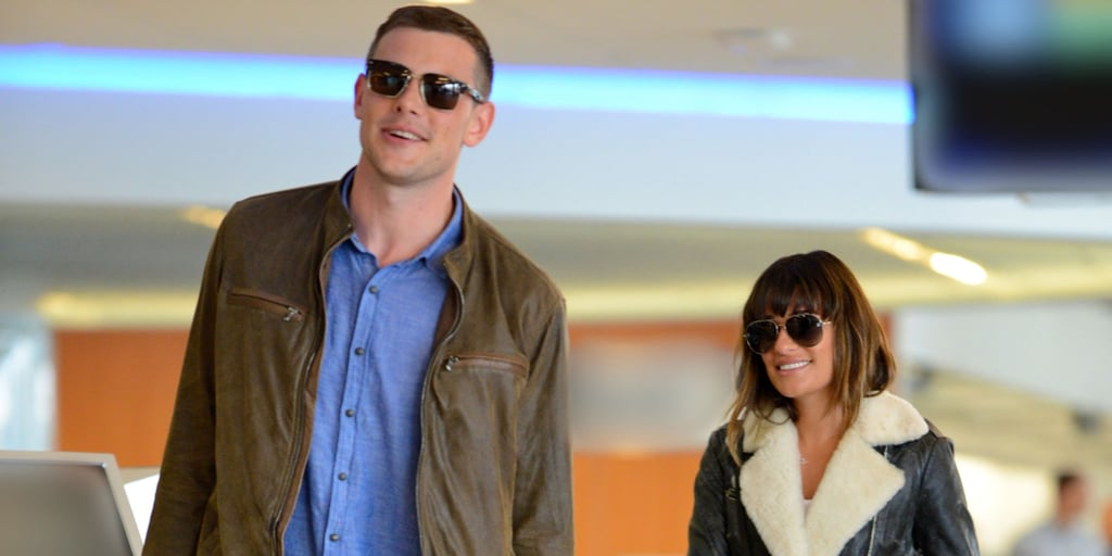 Cory Monteith Reunites With Lea Michele After Completing Rehab