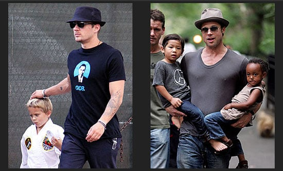 Photos of Celebrity Dads With Their Celebrity Babies