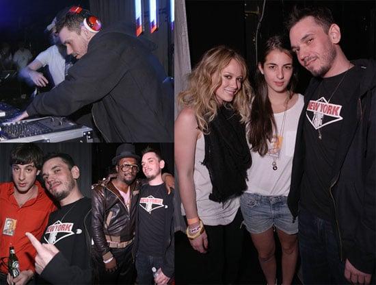 Photos of DJ AM, Mark Ronson, Hilary Duff at Welcome Home DJ AM Benefit