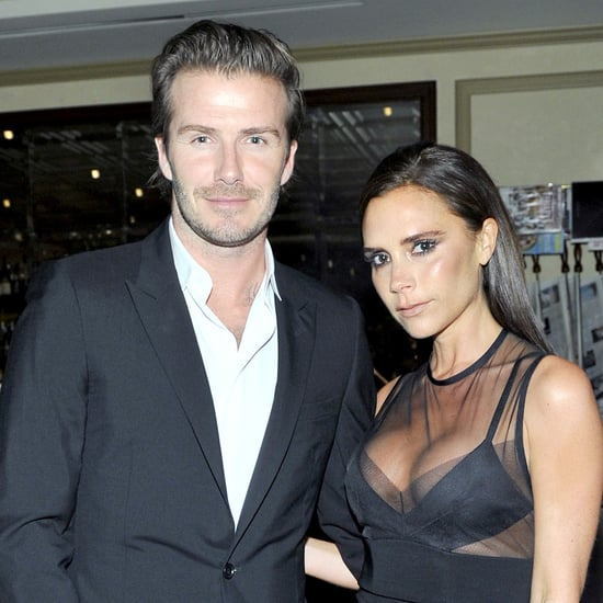 Victoria Beckham and David Beckham Showing PDA in LA