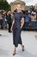 Leelee Sobieski in Denim Dior Jumpsuit