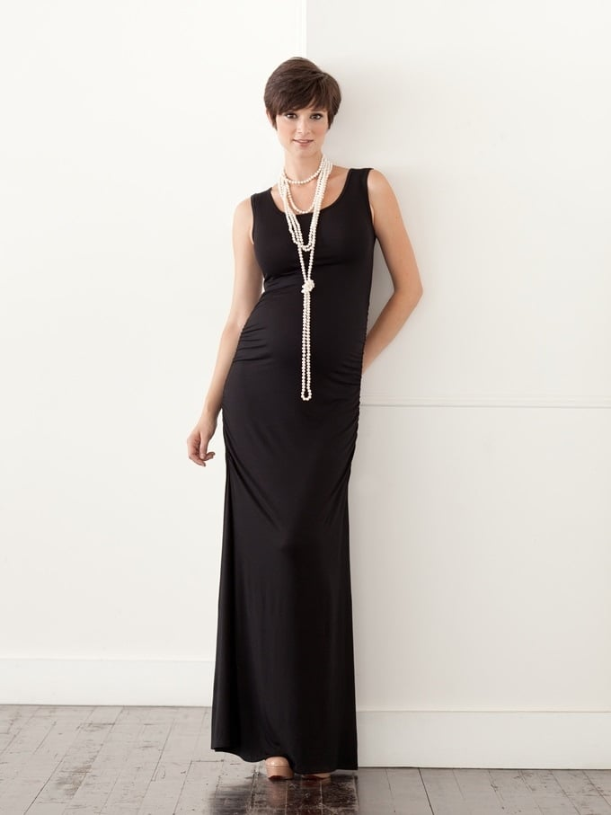The Madison Maxi in Black