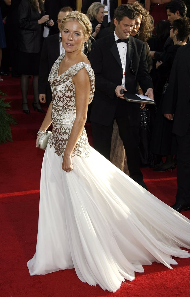 Sienna Miller in Marchesa in 2007.