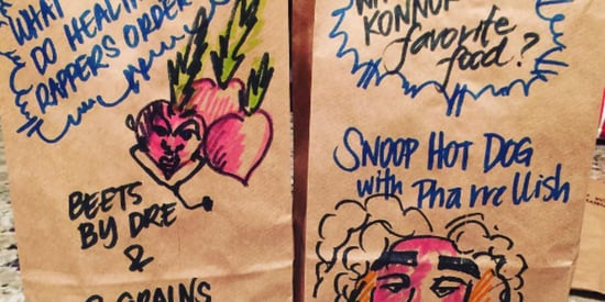 Mom Decorates Sons' Lunch Bags With Creative, Pun-Filled Jokes