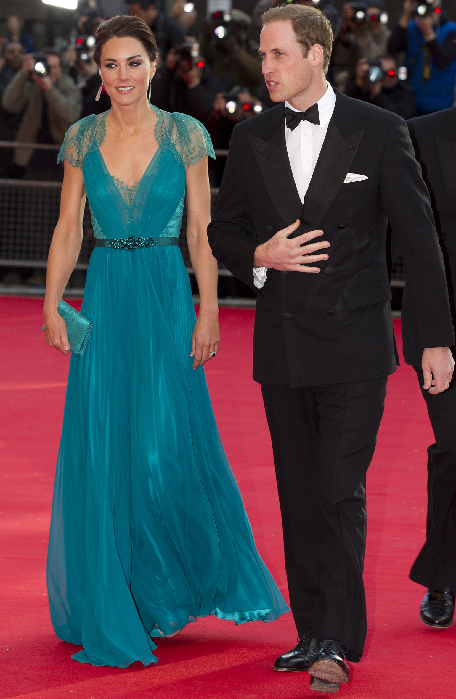 The Royal Couple at the Olympic Concert