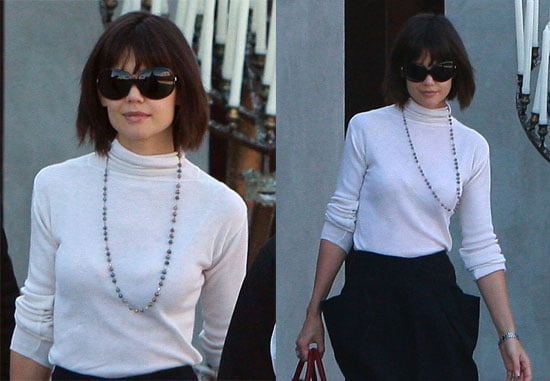 Katie Holmes Shopping in Beverly Hills
