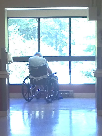 Heartbroken Grandfather Pictured Alone in Nursing Home After Being Separated from Wife of 62 Years