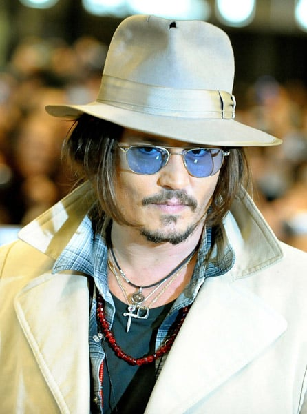 Photos of Johnny Depp