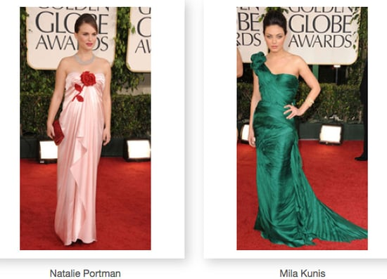Red Carpet Pictures From the 2011 Golden Globes