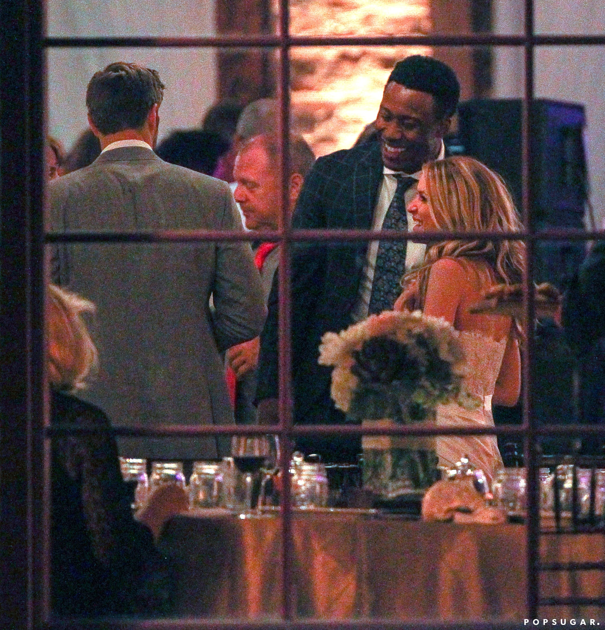 The wedding reception was held at Houston Station in Nashville.