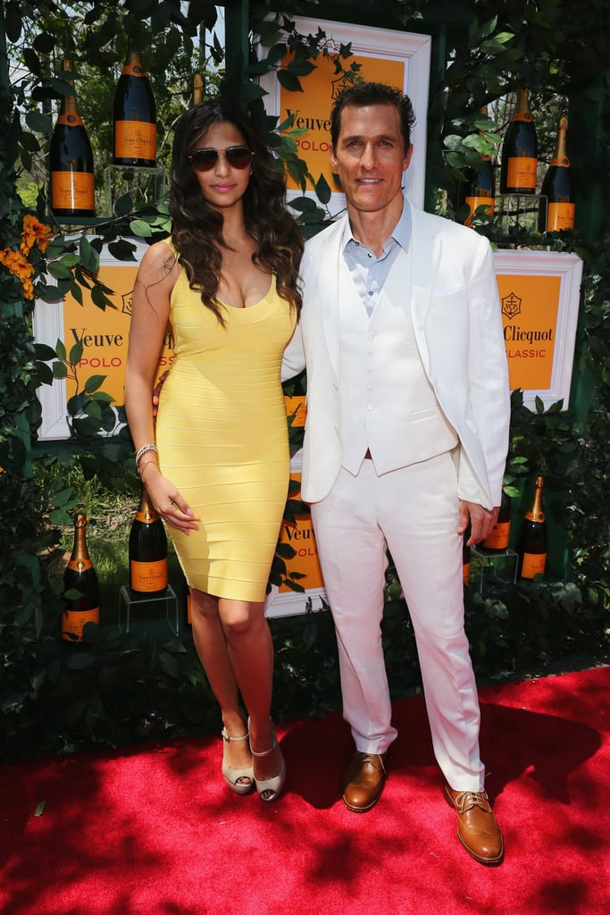 Matthew McConaughey and Camila Alves walked the red carpet.