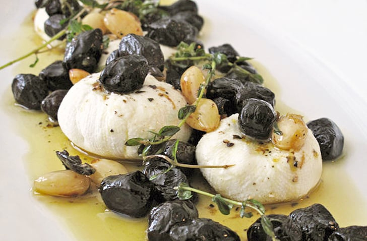 Marinated Goat Cheese With Olives
