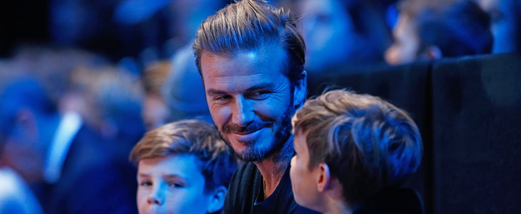 David Beckham Just Called Out His Son For Stealing His Clothes