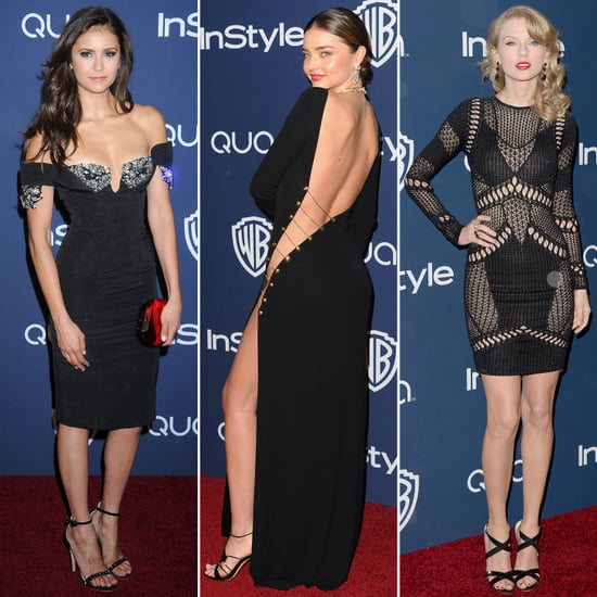 Sexy Dresses at Golden Globes Parties 2014