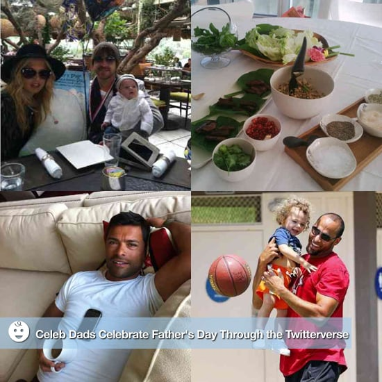 Celebrity Dads and Father's Day