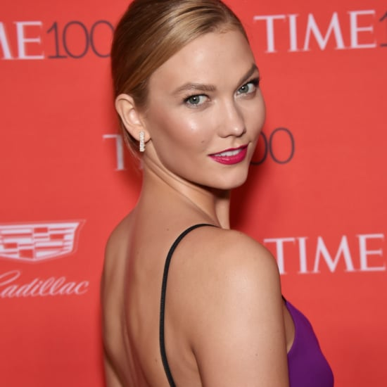 Karlie Kloss's Purple Dress at the Time 100 Gala 2016
