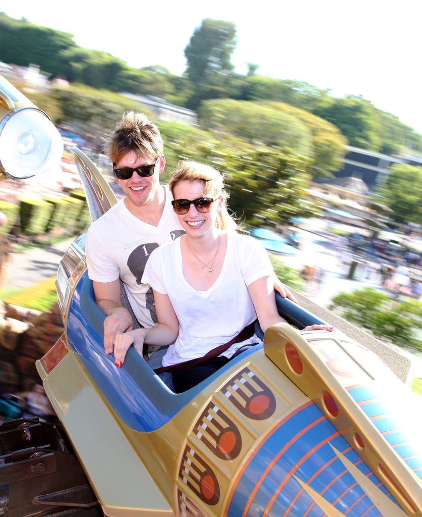 Chord and Emma Ride the Rollercoaster of Love at Disneyland