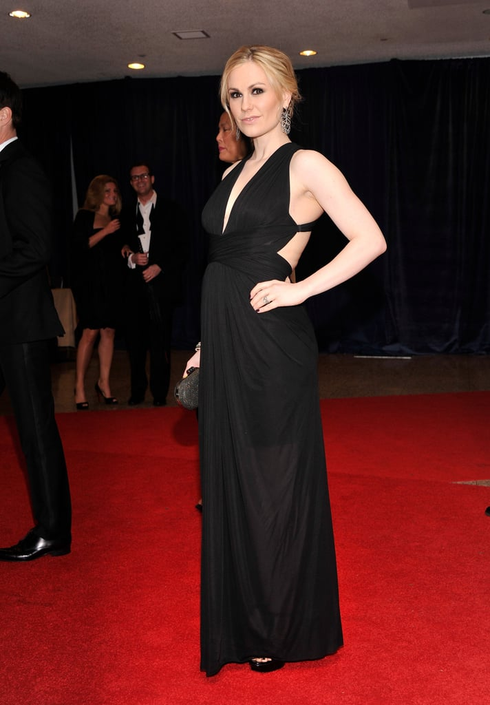 Pregnant Anna Paquin Steps Out For the White House Correspondents' Dinner