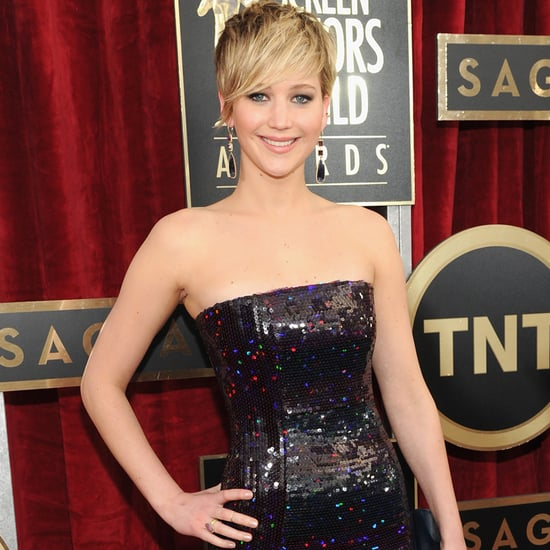 Jennifer Lawrence's Dress at SAG Awards 2014