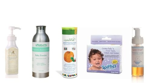 Eco-Friendly Bath Products For Babies