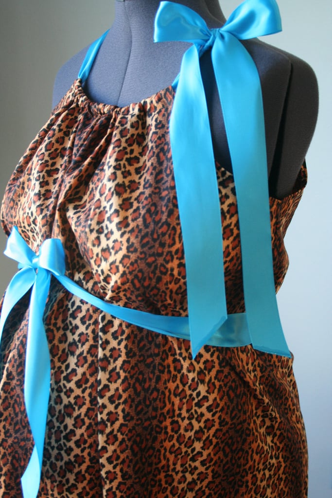 Dolly Cheetah Print Delivery Gown ($62)