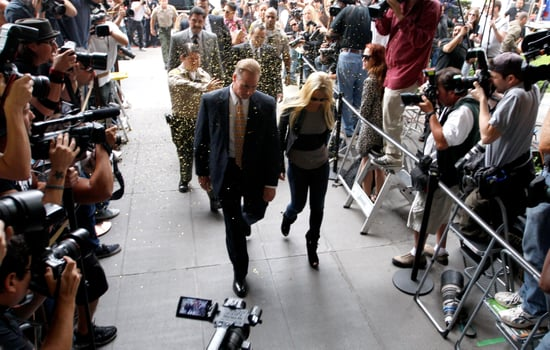 Picture of Lindsay Lohan Arriving at Courthouse For Jail Sentence