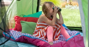 Effortlessly Transform Your Backyard Into a Family-Camping Getaway