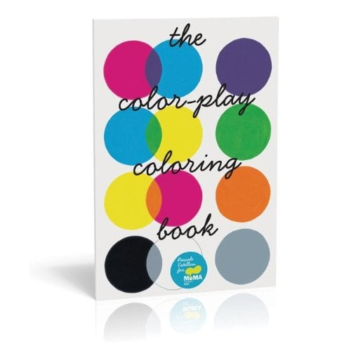 The Color-Play Coloring Book ($12)