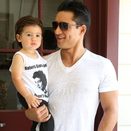 Mario Lopez's Son in a Saved by the Bell T-Shirt