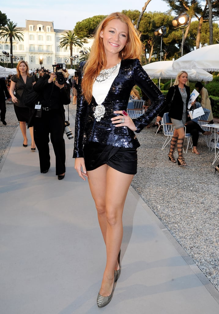 Those legs! Looking tall and toned at the Chanel Croisiere Show in May 2011.